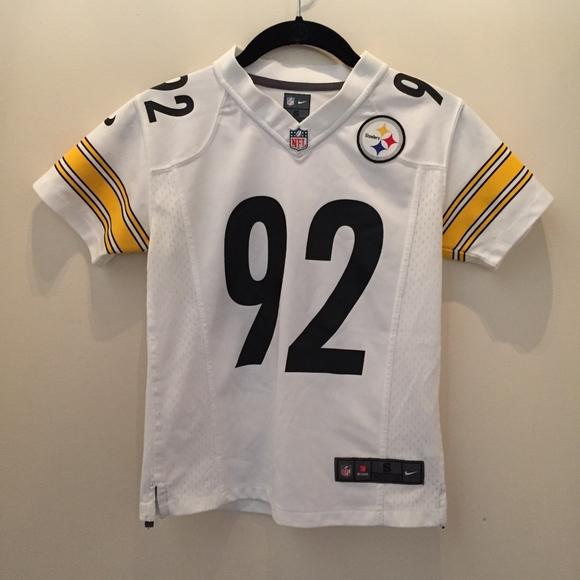 watch 3979d 26653 Nike Pittsburgh Steelers Harrison Kids Jersey S(8)
